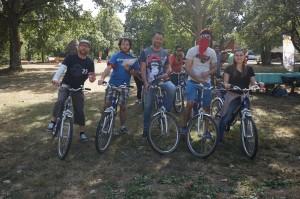 C'est parti pour le jeu de piste à vélo !